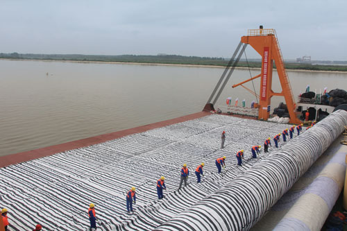 12.5m underwater deep-water channel project of the Yangtze River (from Nanjing)